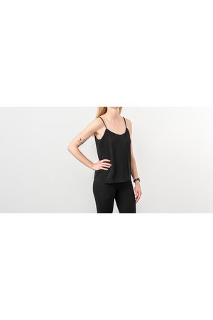 Selected Carrie Strap Top Black