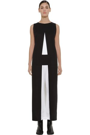 MM6 MAISON MARGIELA Jumpsuit De Pierna Ancha Color Block