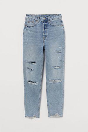 H & M Mujer Slim - Slim Mom High Ankle Jeans