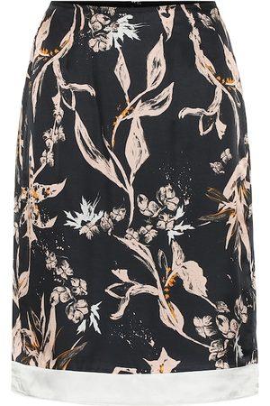Dorothee Schumacher Falda Tamed Florals de mezcla de seda