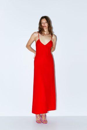 Zara Vestido largo tirantes edición limitada