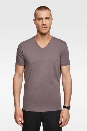 Zara Hombre Camisetas - Camiseta básica slim