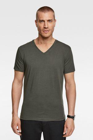Zara Camiseta básica slim