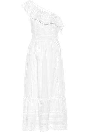 Velvet Vestido midi Coco de algodón