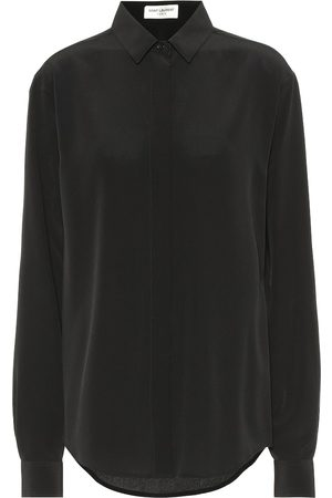 Saint Laurent Camisa de seda