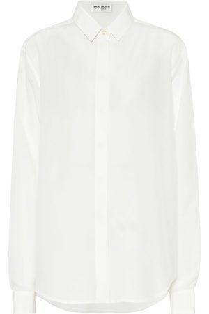 Saint Laurent Camisa de seda