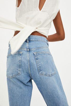Zara Jeans mid rise slouchy rotos