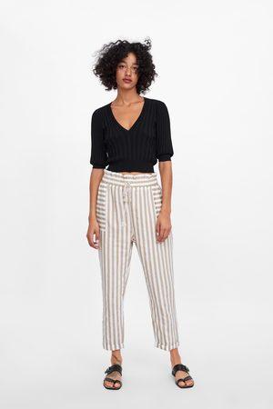 Pantalones Y Vaqueros De Mujer Zara Baratos Fashiola Es