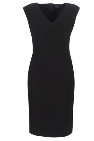 LAUREN RALPH LAUREN Vestido largo BLACK CAP SLEEVE DAY DRESS para mujer