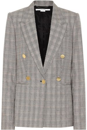 Stella McCartney Blazer de lana de cuadros