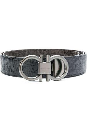Salvatore Ferragamo Hombre Cinturones - Cinturón con hebilla doble Gancio