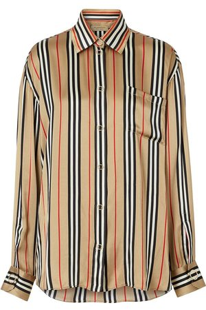 Burberry Camisa Icon con motivo de rayas