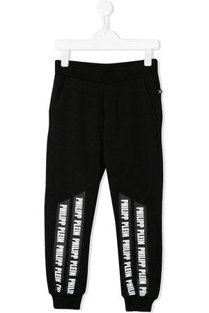 Philipp Plein Pantalones joggers con cinta del logo
