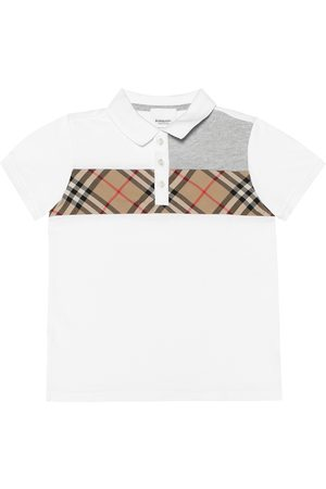 Burberry Vintage Check cotton polo shirt