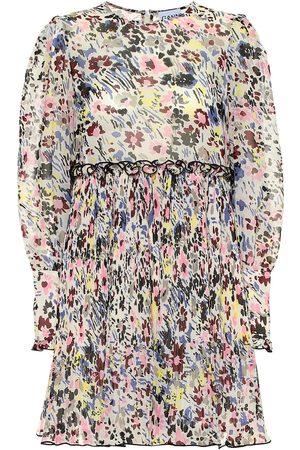 Ganni Vestido corto floral