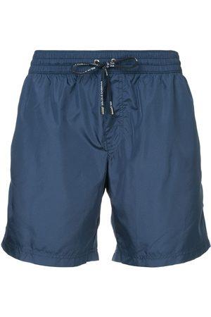 Dolce & Gabbana Hombre Shorts de baño - Shorts de baño con cintura con cordón