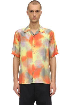 AMBUSH | Hombre Camisa De Rayón Con Tie Dye 1
