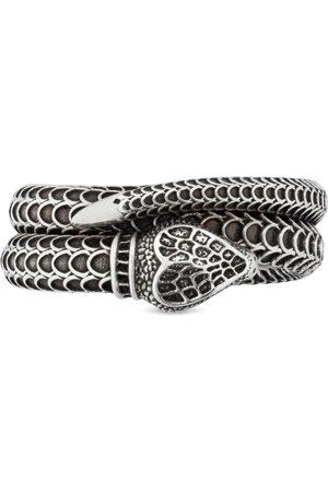 Gucci Anillos - Anillo de plata con culebra Garden