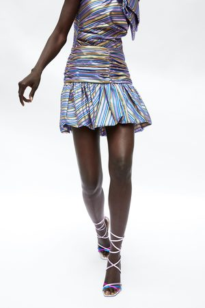 Zara Falda mini rayas