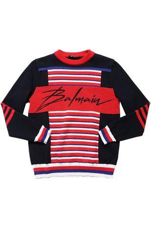 Balmain Suéter De Punto De Algodón