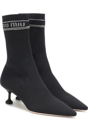 Miu Miu Botas calcetín