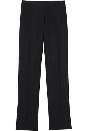 Burberry Pantalones de vestir con detalles de rayas