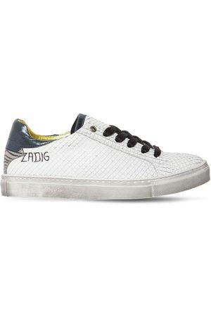 Zadig & Voltaire   Niña Sneakers De Piel 35