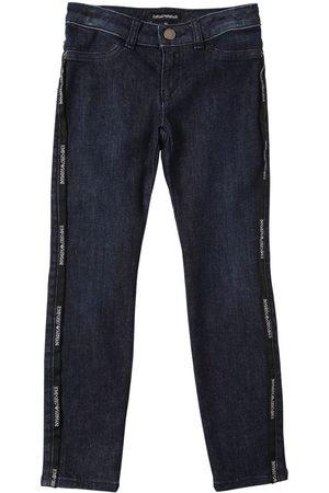 Emporio Armani | Niña Jeans De De Algodón Stretch 10a