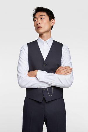 Zara Hombre Chalecos - Chaleco conjunto cinzato confort