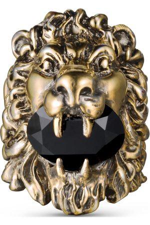 Gucci Anillo con cabeza de león Swarovski