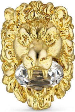 Gucci Mujer Anillos - Anillo con cabeza león y cristal