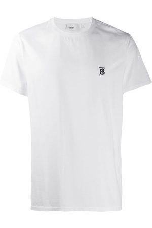 Burberry Camiseta con motivo de monograma