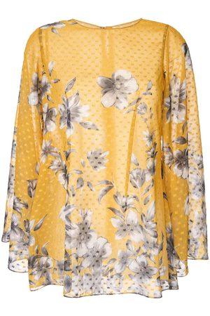 Bambah Top estilo túnica Bridget con estampado floral