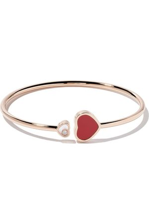 Chopard Brazalete Happy Hearts con diamante en oro rosa 18kt