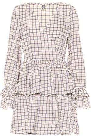 Baum und Pferdgarten Exclusivo en Mytheresa – vestido corto Ailin de algodón de cuadros