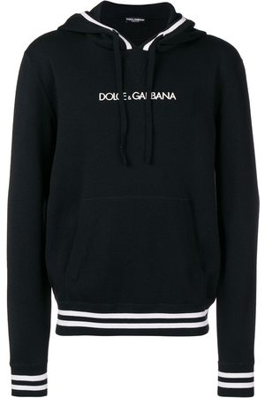 Dolce & Gabbana Sudadera con capucha y logo bordado