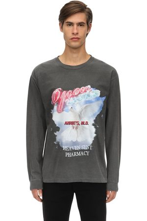 AN AN ANN | Hombre Camiseta De Algodón Con Mangas Largas S