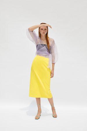 Zara Falda midi edición limitada