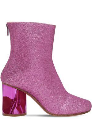 Maison Margiela | Mujer Botines De Calcetín Glitter 80mm 37.5
