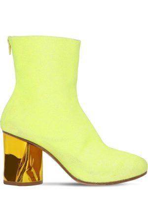 Maison Margiela | Mujer Botines De Calcetín Glitter 80mm 38.5