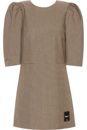Msgm Vestido corto en mezcla de lana