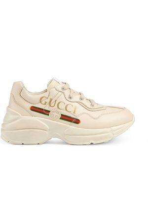 2e69314c64 Gucci Niña Zapatillas deportivas - Zapatilla Rhyton infantil con logo
