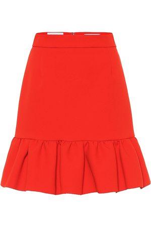 Msgm Minifalda de crepé elastizada