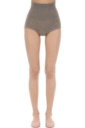 Khaite   Mujer Shorts De Punto De Cashmere Xs