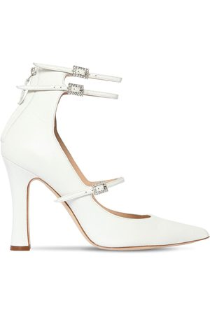 "Alessandra Rich | Mujer Zapatos Pumps ""mary Jane"" De Piel 105mm 36"