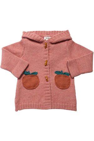 OEUF | Niña Cárdigan De Punto De Baby Alpaca 4a
