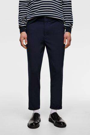Zara Hombre Pantalones y Leggings - Pantalón carrot fit
