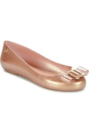 Melissa Bailarinas VW SPACE LOVE 18 ROSE GOLD BUCKLE para mujer