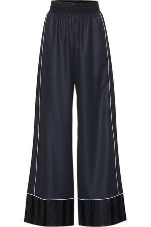 Golden Goose Pantalones anchos Sophie de satén