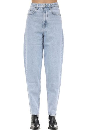 Isabel Marant Corsy J Boyfriend Cotton Denim Jeans